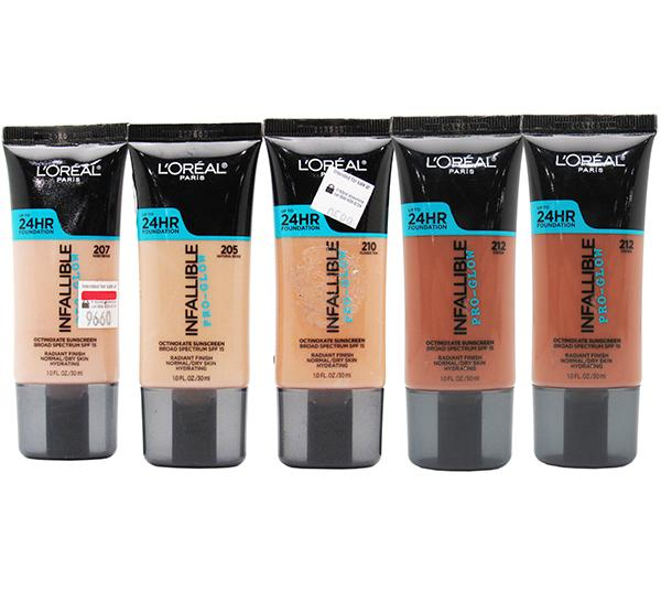 Liquidation Loreal Infallible Pro - Glow 24HR Foundation Assorted Pack 24PCS (LIPGFLIQUIDATION)