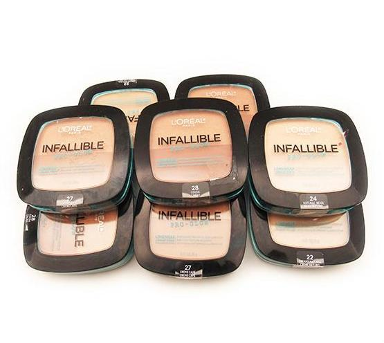 Liquidation Loreal Infallible Pro - Glow Longwear Powder Assorted Pack 24PCS (LIPGLIQUIDATION)