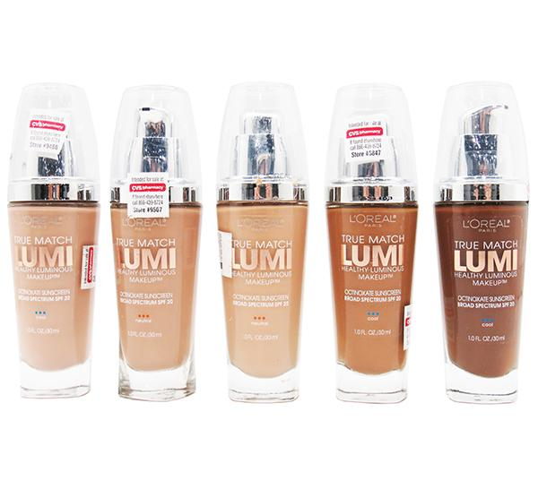 Wholesale Loreal True Match Lumi Makeup Assorted Pack 24PCS (LTMLLIQUIDATION)