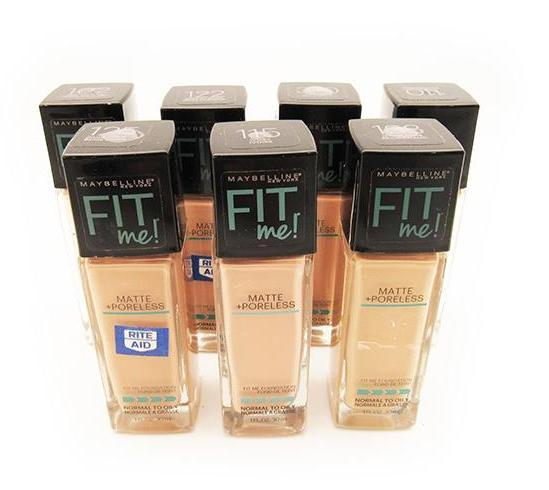 Liquidation Maybelline Fit Me Foundation Assorted Pack 24PCS (MFMFLIQUIDATION)