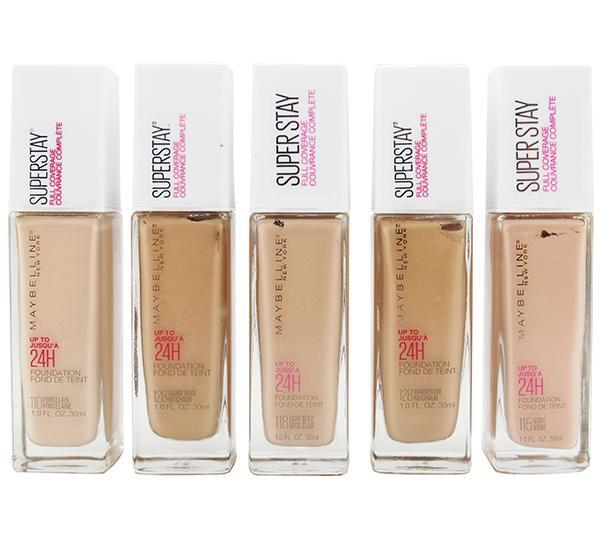Liquidation Maybelline Superstay Full Coverage Foundation Assorted Pack 24PCS (MSFCLIQUIDATION)