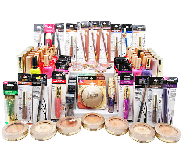 Wholesale Milani Cosmetics And Nail Polish Assorted Box 200PCS (MACN)