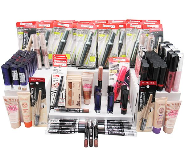 Liquidation Rimmel London Cosmetics Mixed box 125PCS