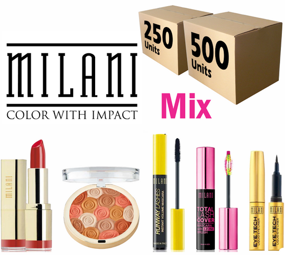 Liquidation Milani Cosmetics Mixed box