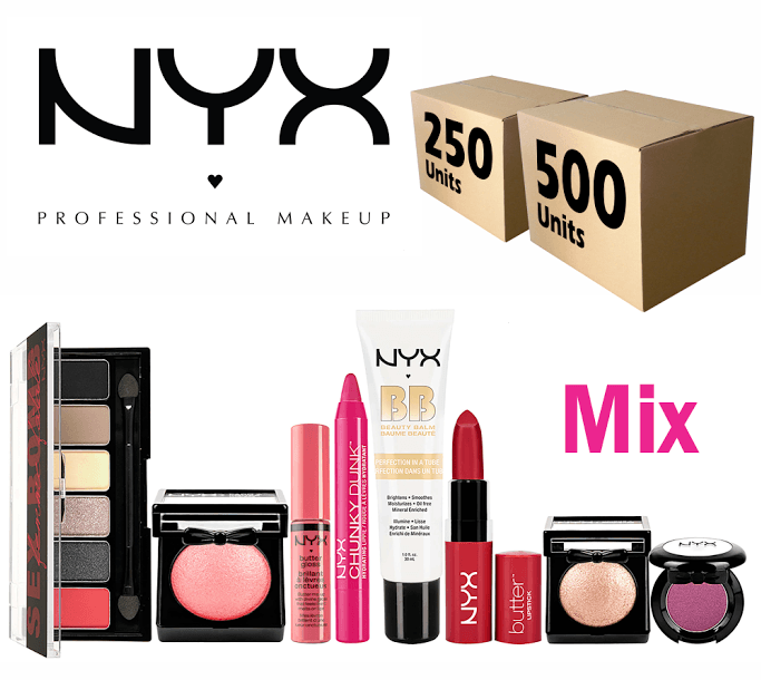 Liquidation NYX Cosmetics Mixed box