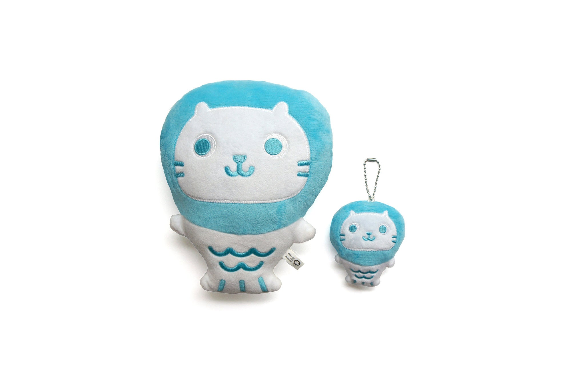 Mer Mer the Merlion Plush Keychain