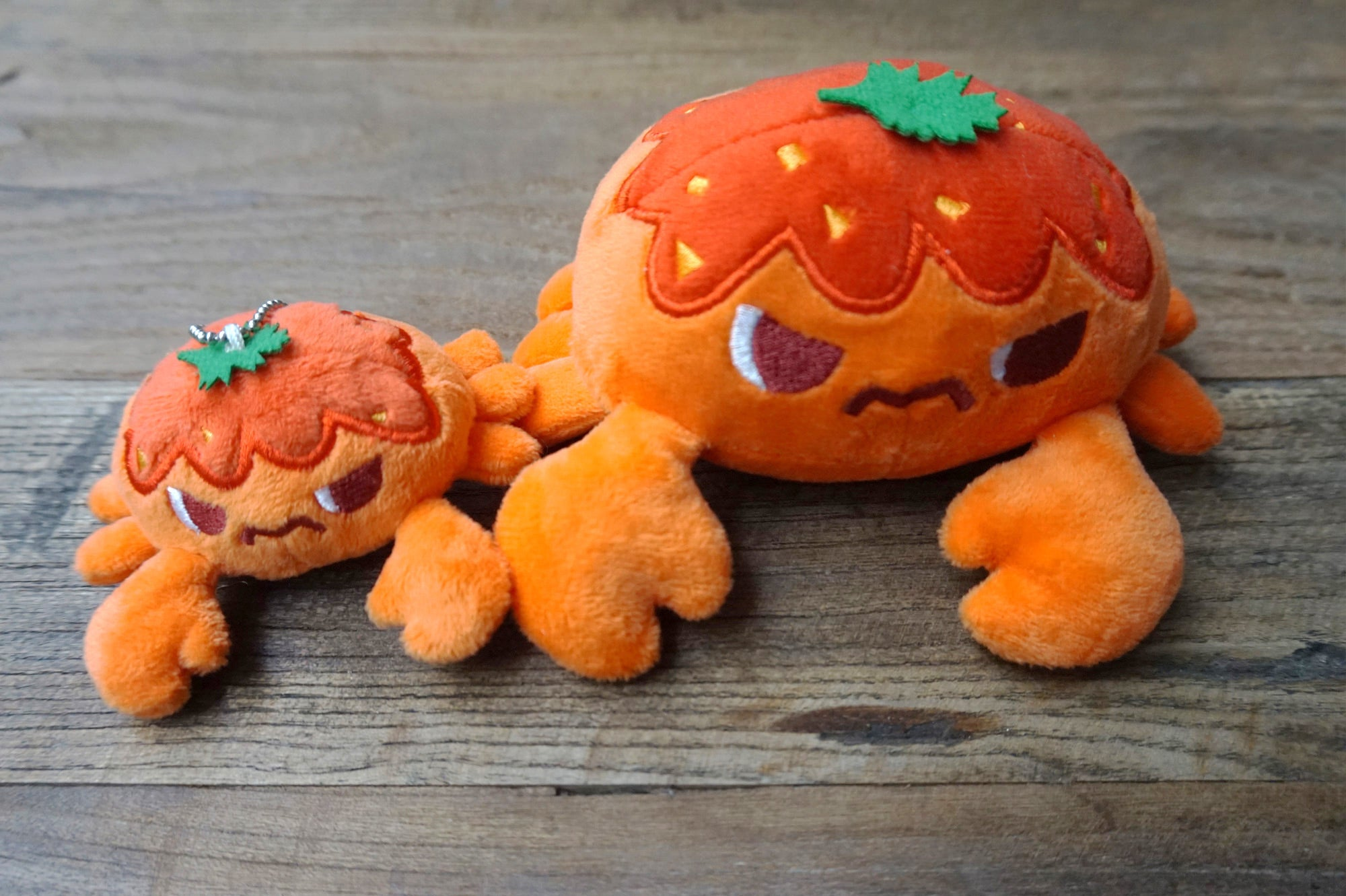 Chilli Crab Crab Plush Keychain