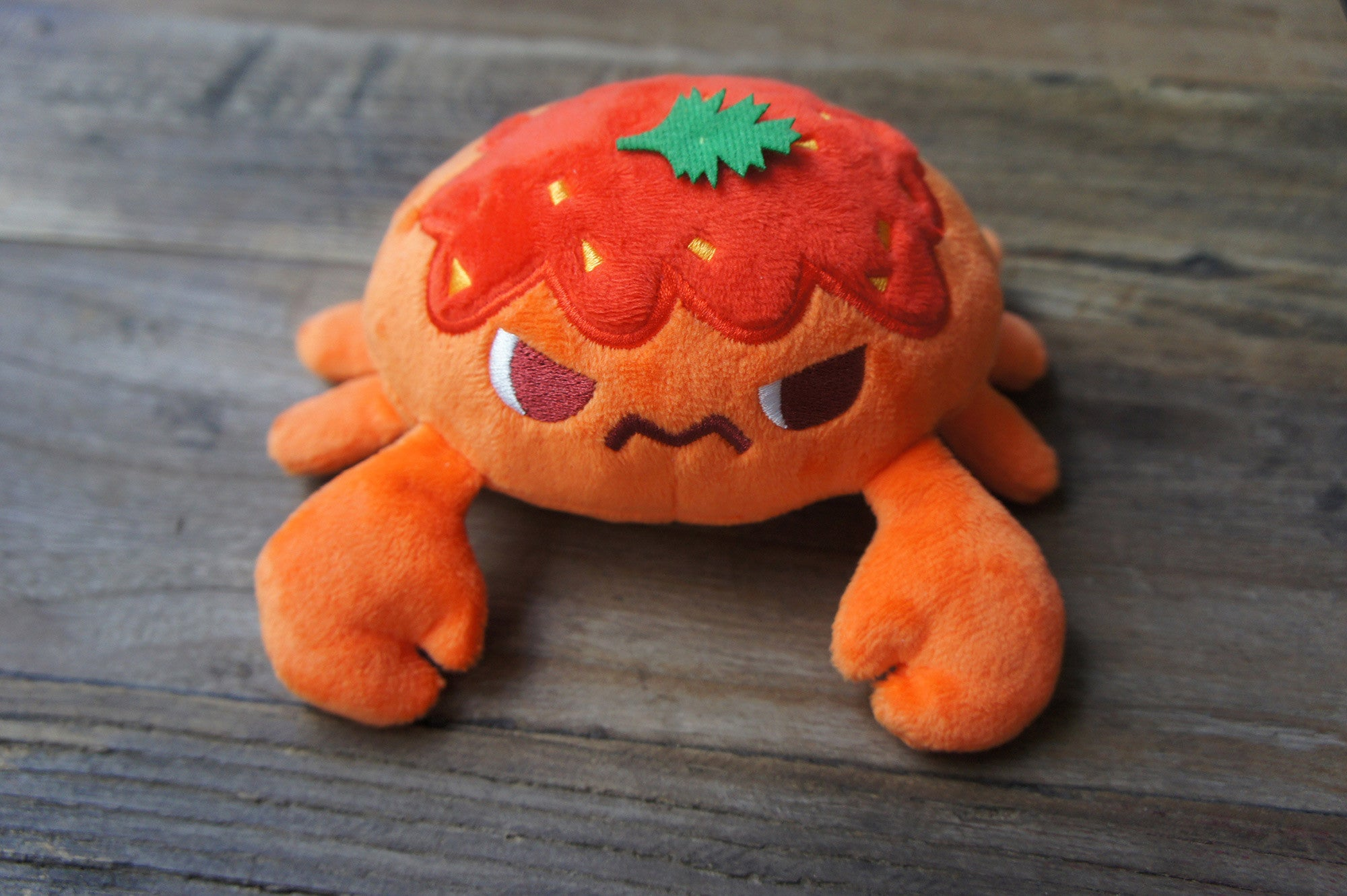 Chilli Crab Crab Plush