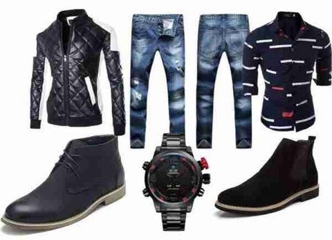 Discover our men's fashion style guide and shop online the latest trend and styles of men's fashion clothing, shirts, jeans, jackets, shorts, t-shirts, blazers