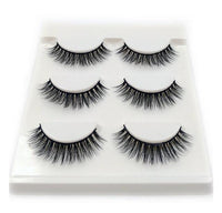 3 Pairs Mink Eyelashes-Eye Lashes-LeStyleParfait.Co.Ke