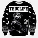 3D Print Men's Sweatshirt Fashion Sweatshirt Thug Life Sweatshirt-Men Sweatshirts-LeStyleParfait.Co.Ke