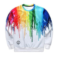 3D Sweatshirt Men's White Fashion Sweatshirt-Men Sweatshirts-Kenya-LeStyleParfait.Co.Ke
