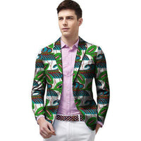 African Blazers For Men, Kitenge Dashiki Blazers, Casual Blazer-Blazer-Kenya-LeStyleParfait.Co.Ke