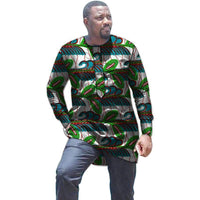 African Men's Shirts Dashiki Tops Tailor Made-Shirt-Kenya-LeStyleParfait.Co.Ke