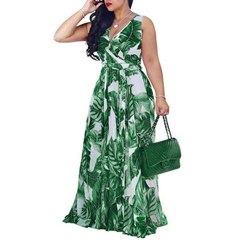 All About Green Maxi Dress-Dress-Le Style Parfait Kenya