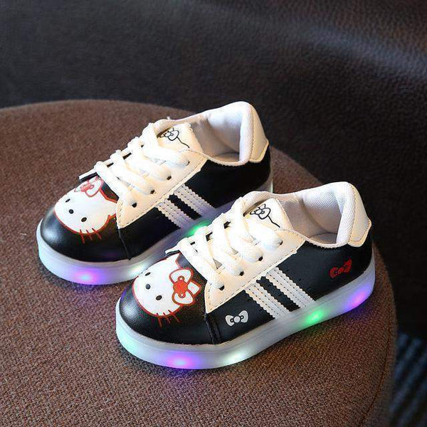 Baby Girl Shoes, LED Light Up Baby Shoes, 1-6 Yrs, Baby Sneakers-Children Shoes-Kenya-LeStyleParfait.Co.Ke