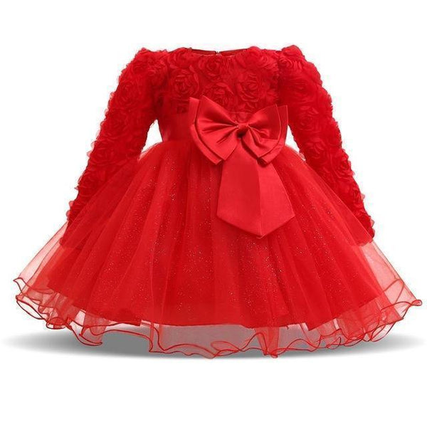 Baby Girls Dresses 6-24M Toddler Girls Tutu Dress Blue Pink-Girls Dresses-Kenya-LeStyleParfait.Co.Ke