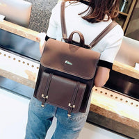Backpack For Girls, PU Leather Women Backpack-Backpack-Kenya-LeStyleParfait.Co.Ke