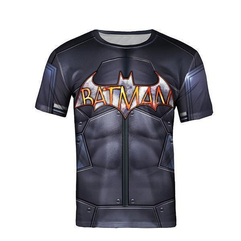 Batman T-Shirt 3D T-Shirt Short Sleeve T-Shirt UNISEX-T-Shirts-Kenya-LeStyleParfait.Co.Ke