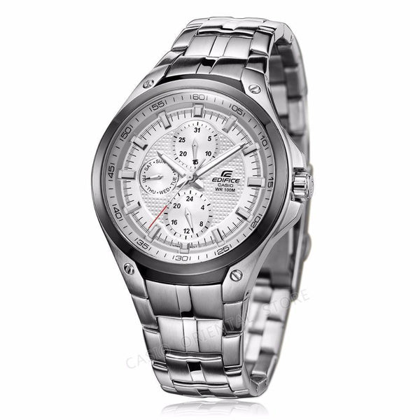 Casio Edifice Men's Watch Waterproof Wristwatch Fashion Quartz Watches-Watches-LeStyleParfait.Co.Ke
