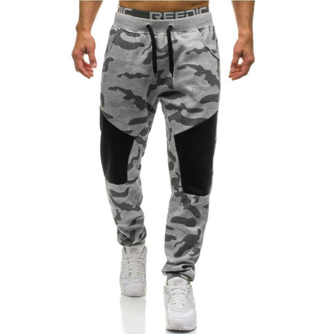 Casual Men's Pants Camouflage Jogger Pants Sweatpants-Men's Pants-Kenya-LeStyleParfait.Co.Ke
