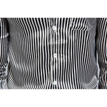 Casual Mens Shirts, Shiny Stripe Night Club Shirts, Slim Fit Mens Shirts-Shirt-Kenya-LeStyleParfait.Co.Ke