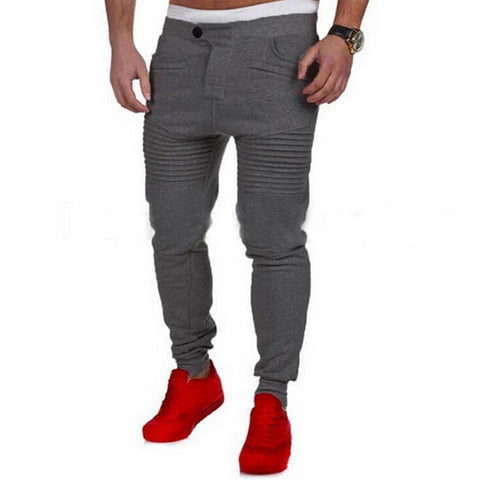 Casual Mens Sweatpants Hip Hop Jogger Pants-Men's Pants-Kenya-LeStyleParfait.Co.Ke