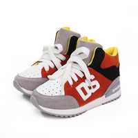 Children Shoes, UNISEX Sneakers For Boys and Girls, Red, Orange, Green-Children Shoes-LeStyleParfait.Co.Ke
