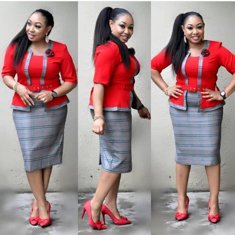 Dress - Women Plus Size Dress-Dress-Le Style Parfait Kenya