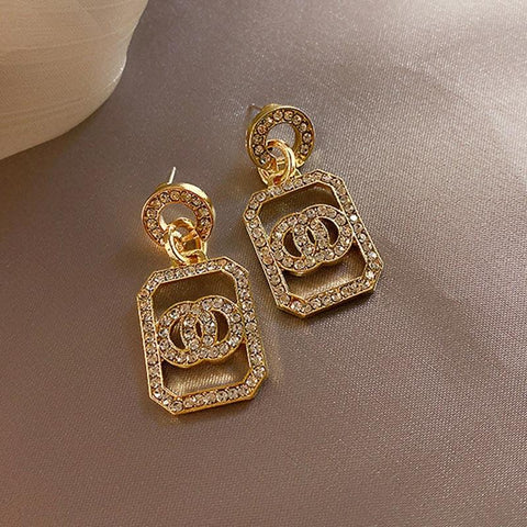 Drop Earrings Gold & Silver For Women-Earrings-Le Style Parfait Kenya