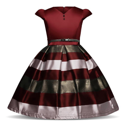 Elegant Girl's Dress Princess Dress Party Dress Sleeveless-Girls Dresses-Kenya-LeStyleParfait.Co.Ke