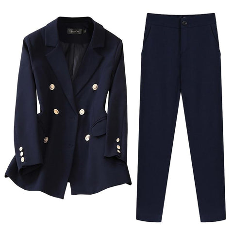 Elegant Pants Suit For Women-Suit-Le Style Parfait Kenya