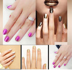 Elite99 Metallic UV Gel Polish Mirror Effect Gold Color 10ml-Nail Polish-Kenya-LeStyleParfait.Co.Ke