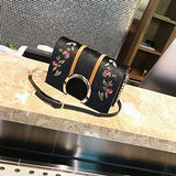 Embroidery Women Bags Velvet Luxury Handbags-Bag-Kenya-LeStyleParfait.Co.Ke