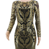 Evening Gown, Women Sequin Maxi Party Dress-Dress-Kenya-LeStyleParfait.Co.Ke