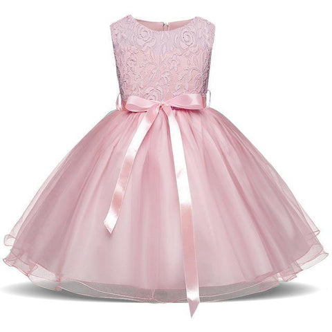 Fancy Girls Dresses Christmas or Wedding Dresses 1- 8 Years Blue Pink-Girls Dresses-Kenya-LeStyleParfait.Co.Ke