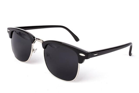 Fashion Brand Designer Glasses, UNISEX High Quality Sunglasses, UV400, Black Gold-Sunglasses-LeStyleParfait.Co.Ke