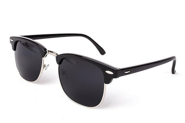 Fashion Brand Designer Glasses, UNISEX High Quality Sunglasses, UV400, Matte Black-Sunglasses-LeStyleParfait.Co.Ke