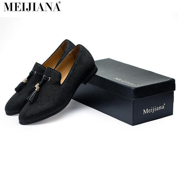 Fashion Brand Shoes Men's Loafers With Tassel-Shoes-LeStyleParfait.Co.Ke