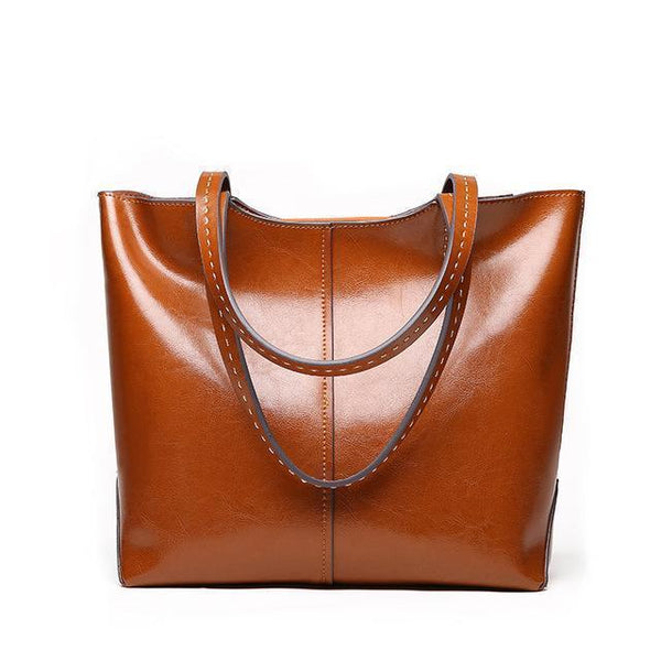 Fashion Women Handbags Genuine Leather Shoulder Bags-Bag-Kenya-LeStyleParfait.Co.Ke