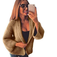 Fashion Women Sweaters Cardigan Loose Cashmere Sweaters-Sweaters-LeStyleParfait.Co.Ke