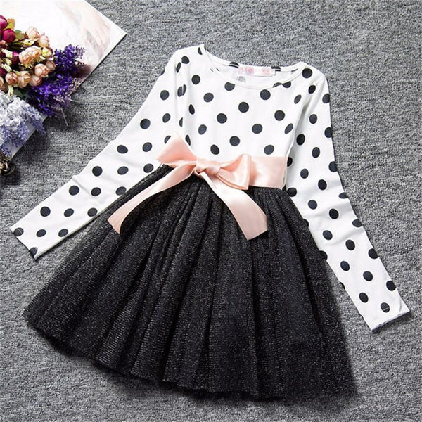 Girls Dresses Winter Dresses 1-8 Years Old-Girls Dresses-Kenya-LeStyleParfait.Co.Ke