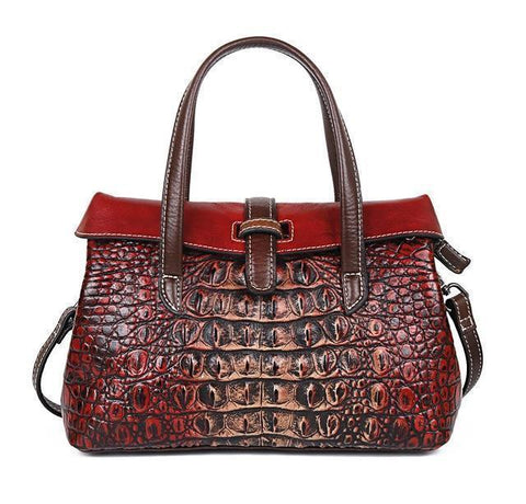 Handbags, Women Luxury Brand Handbags, Embossed-Bag-Kenya-LeStyleParfait.Co.Ke