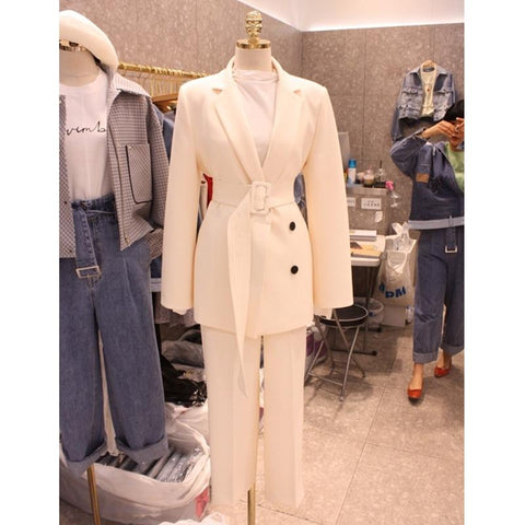 High Quality Belted Women's Suit-Suit-Le Style Parfait Kenya