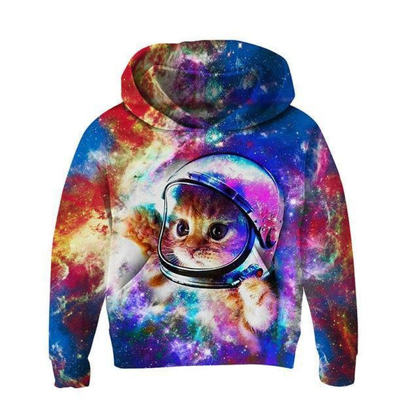 Hoodie, Kids 3D Hoodies, Cat-Kids Hoodies-Kenya-LeStyleParfait.Co.Ke