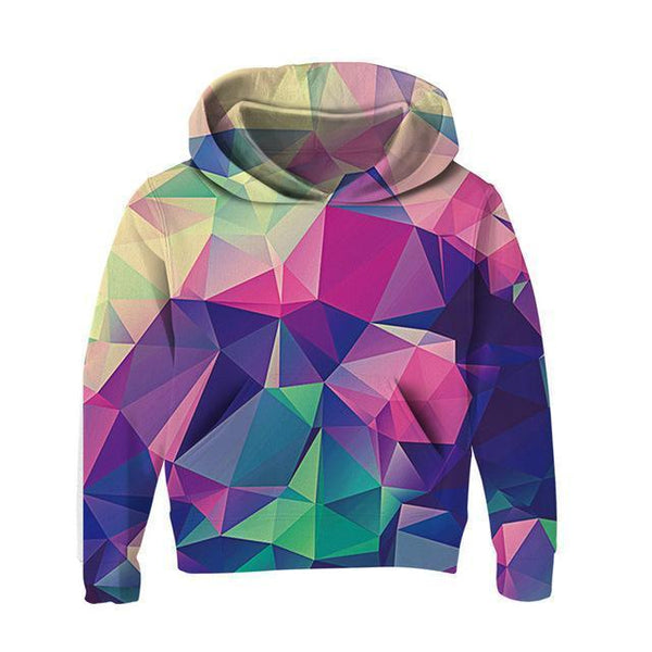 Hoodie, Kids 3D Hoodies, Shapes-Kids Hoodies-Kenya-LeStyleParfait.Co.Ke