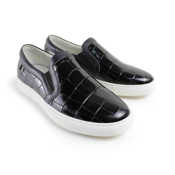 Leather Skateboard Loafer Shoes-Shoes-Le Style Parfait Kenya