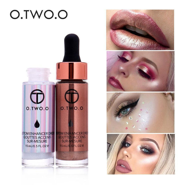 Liquid Highlighter Face and Lip Make Up Highlighter Cream Shimmer Face-Lip Makeup-Kenya-LeStyleParfait.Co.Ke
