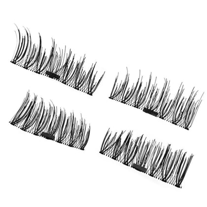 Magnetic Eyelashes False Eye Lashes Magnetic 3d Lashes Set-Eye Lashes-Kenya-LeStyleParfait.Co.Ke
