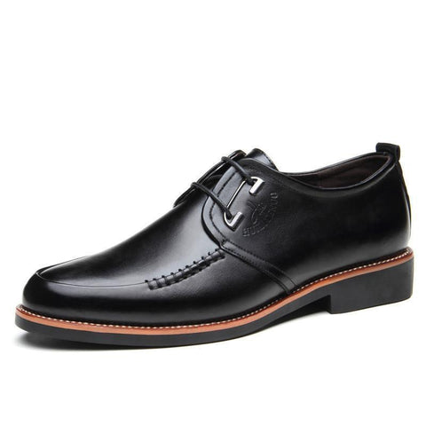 Men Dress Shoes, Lace-Up Office Shoes, Black, Brown-Shoes-Black-Le Style Parfait Kenya